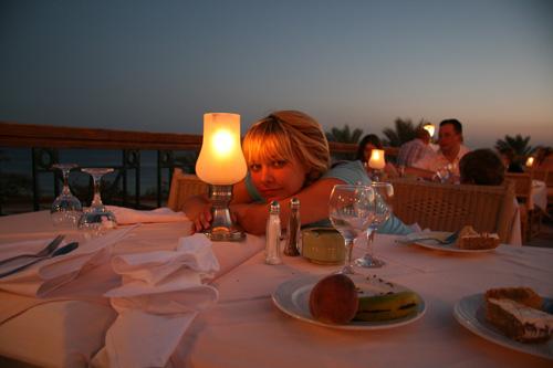 Ресторан, ужин пр свечах