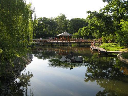 Озеро. Японский сад, Вроцлав