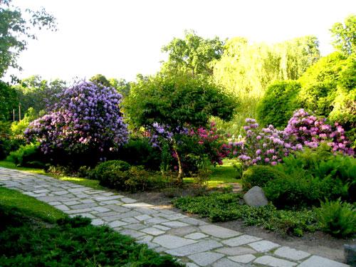 Японский сад, Вроцлав