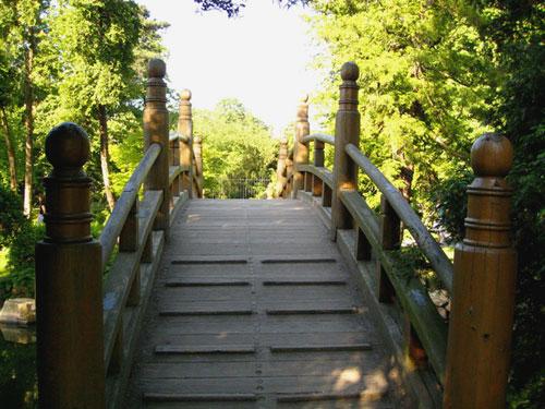 Мостик. Японский сад, Вроцлав