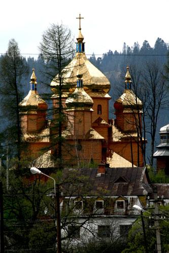 Ворохта, церковь