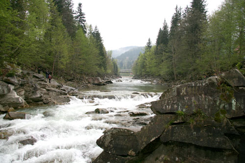 Водопад Пробiй