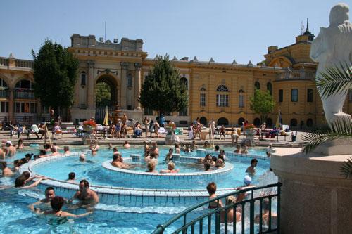 Будапешт, купальни Сечени