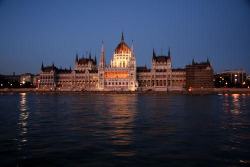 Вечерний Дунай