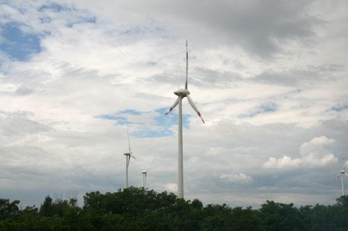 Австрия, ветряки