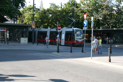Вена, бесшумный трамвай