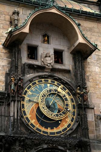 Ратуша, часы
