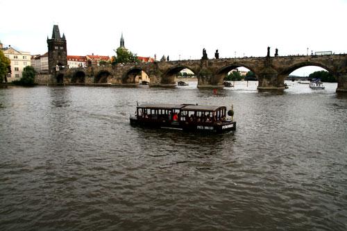 На кораблике по Влтаве