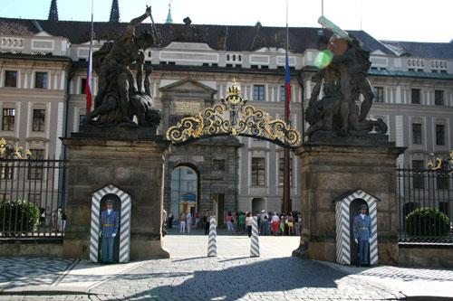 Прага, президентский дворец