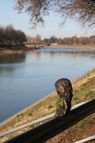 Мини-скульптура Джона Лорда, Ужгород