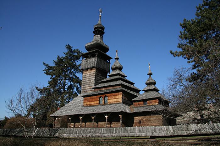 Деревянная церковь из села Шелестово Мукачевского района, 1777 г.
