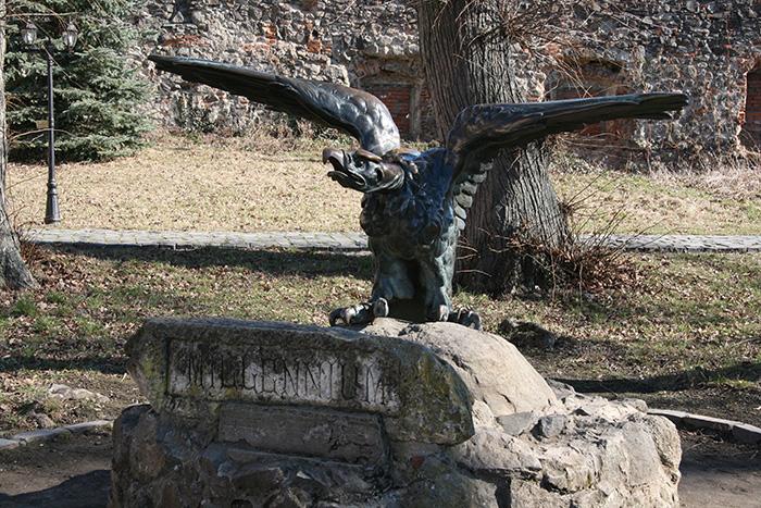 Птица Турул, Ужгородский замок