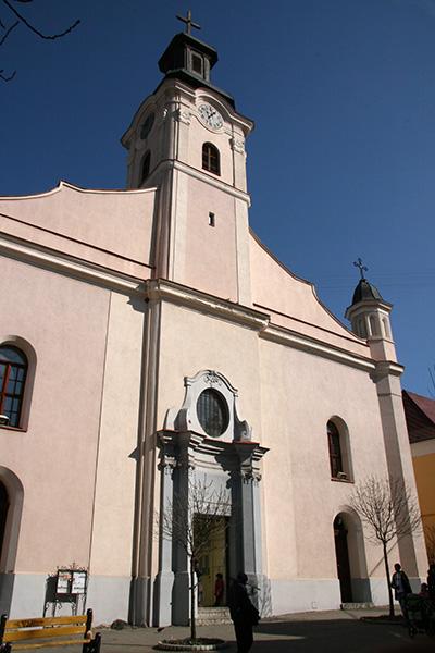 Костел Святого Георгия, Ужгород