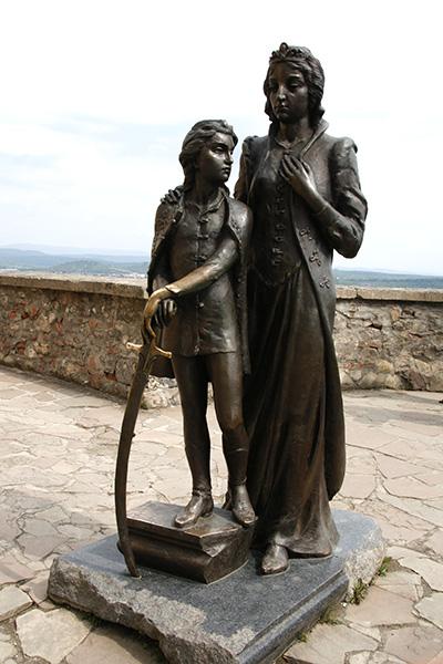 Илона Зрини и ее сын Ференц Ракоци II