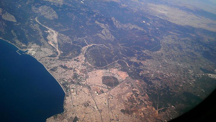 Сколько лететь до Турции из Киева