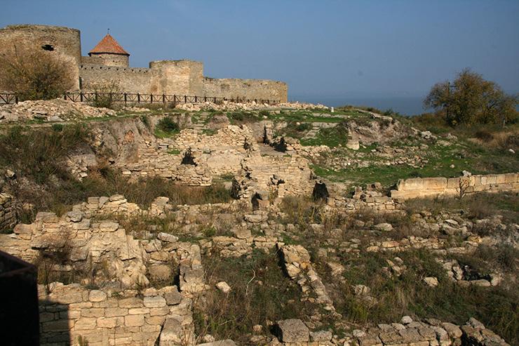 Древнегреческий город Тира
