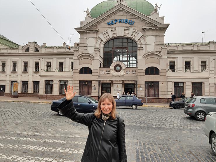 Черновцы, ж/д вокзал