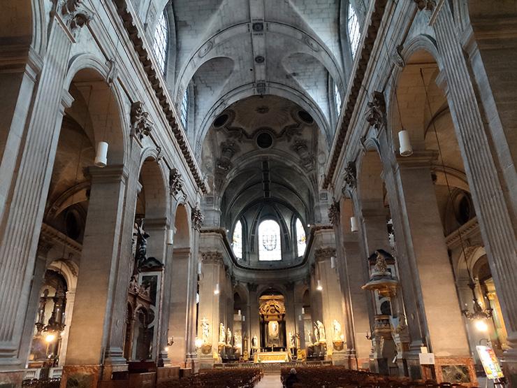 Церковь Сен-Сюльпис (Saint-Sulpice)